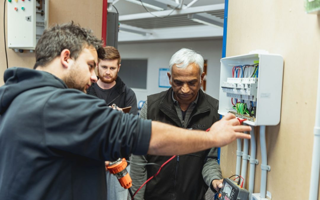 Signing up to an Electrical course? Here's advice on how to improve your chances of passing